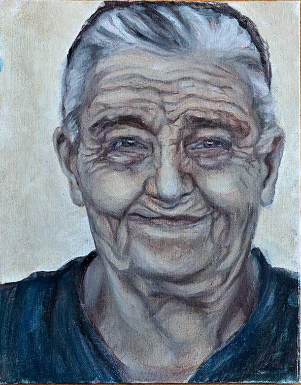 Old Woman IX - WIP