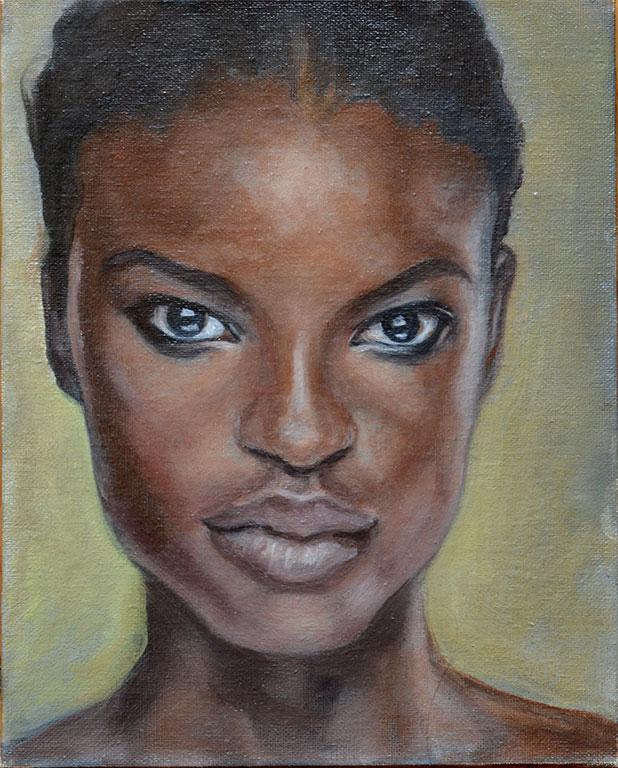 Young Woman II - WIP