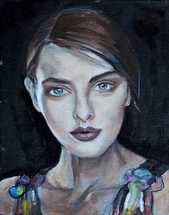 Young Woman III - WIP