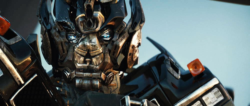 IronHide Closeup still from Transformers 1
