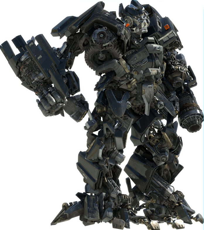 IronHide Character from Transformers 1 & 2