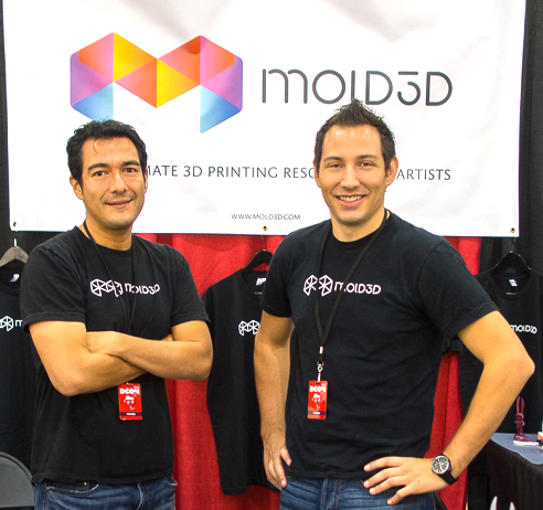 Mold3D Founders Edward Quintero and Robert Vignone.