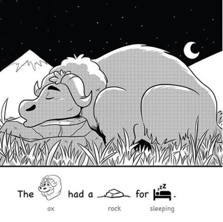 Excerpt from Yak Pack Sight Word Readers Book 1. More illustrations to come pending the release of the book.
