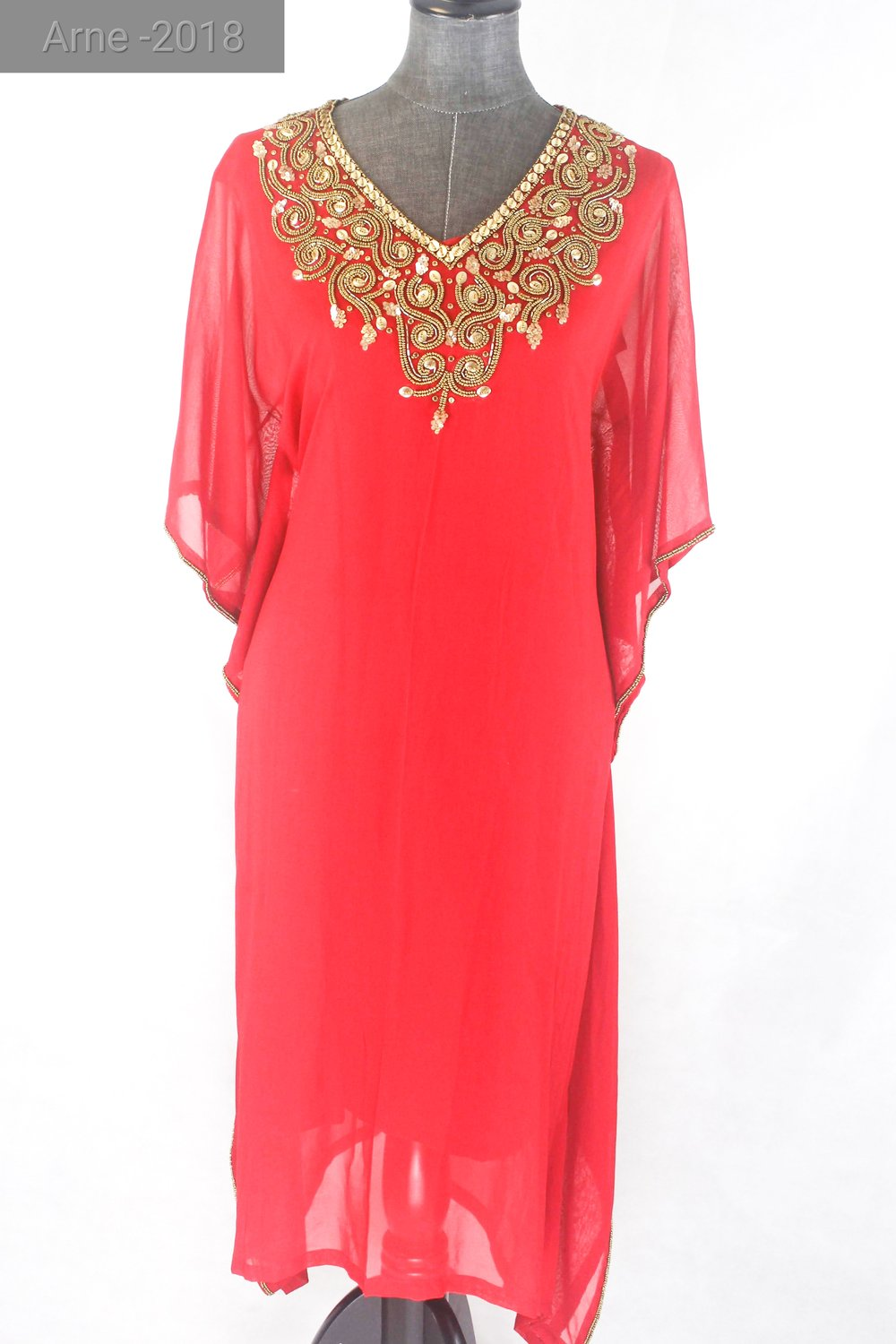 Kaftan - This designer piece of Top can be paired with a variety of options
