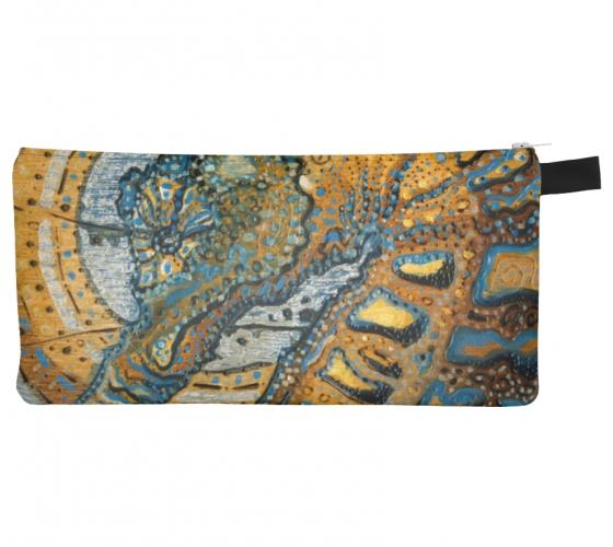 Blue Ocean Pencil Case