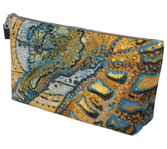 Blue Ocean Makeup Bag
