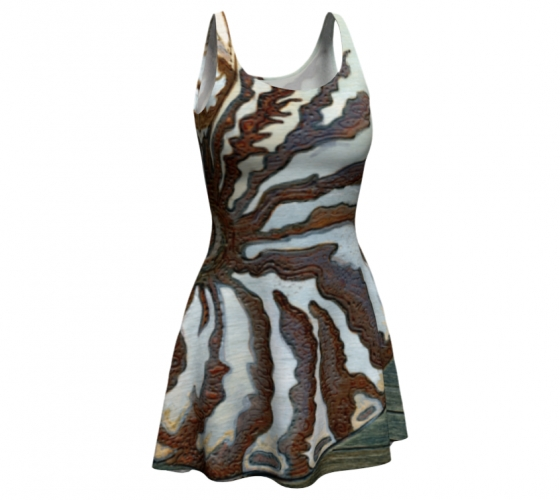 St Nautilus Flare Dress