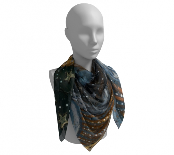Night Angel Square Scarf