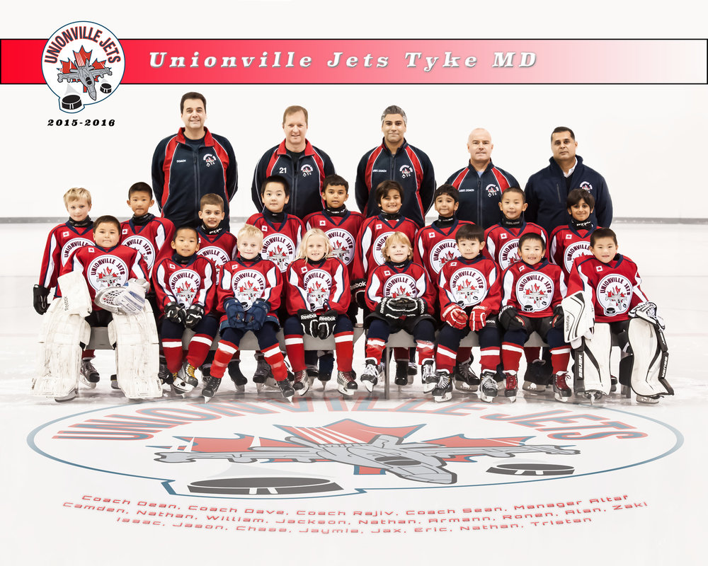Unionville Jets Tyke MD 2015-2016 group picture.jpg