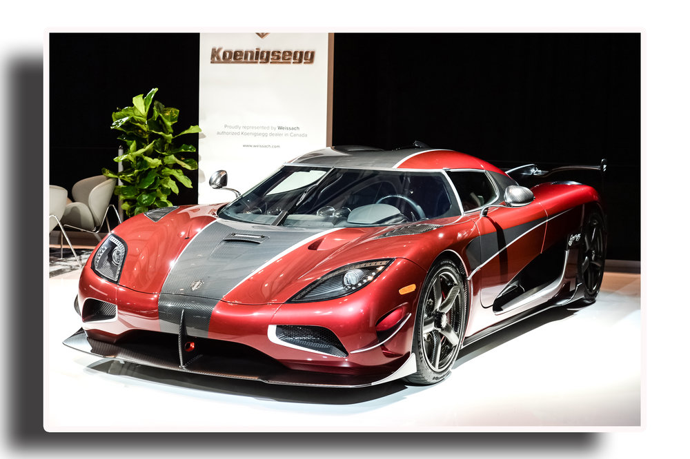 - With the Agera RS at the Autoshow this year, it is helping to establish the Canadian International Autoshow as a must-attend venue for supercar makers around the world.