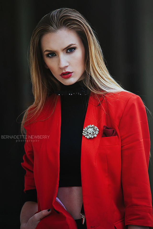 HMUA / Wardrobe Styling by Angelo Axel Culvert at Pretty Penguin Studios  Photography by Bernadette Newberry  Model: Shannon Markesbery at Heyman Talent