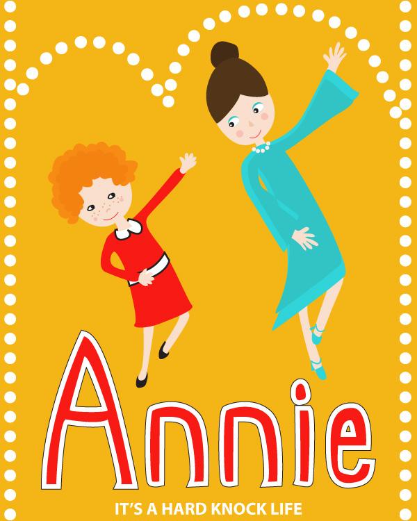 tammie bennett's annie movie poster