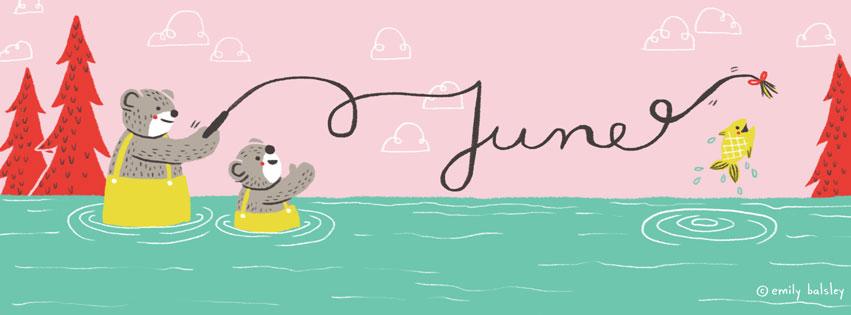 Emily's June Header