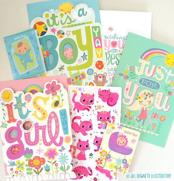 die cuts and flocking...yay!