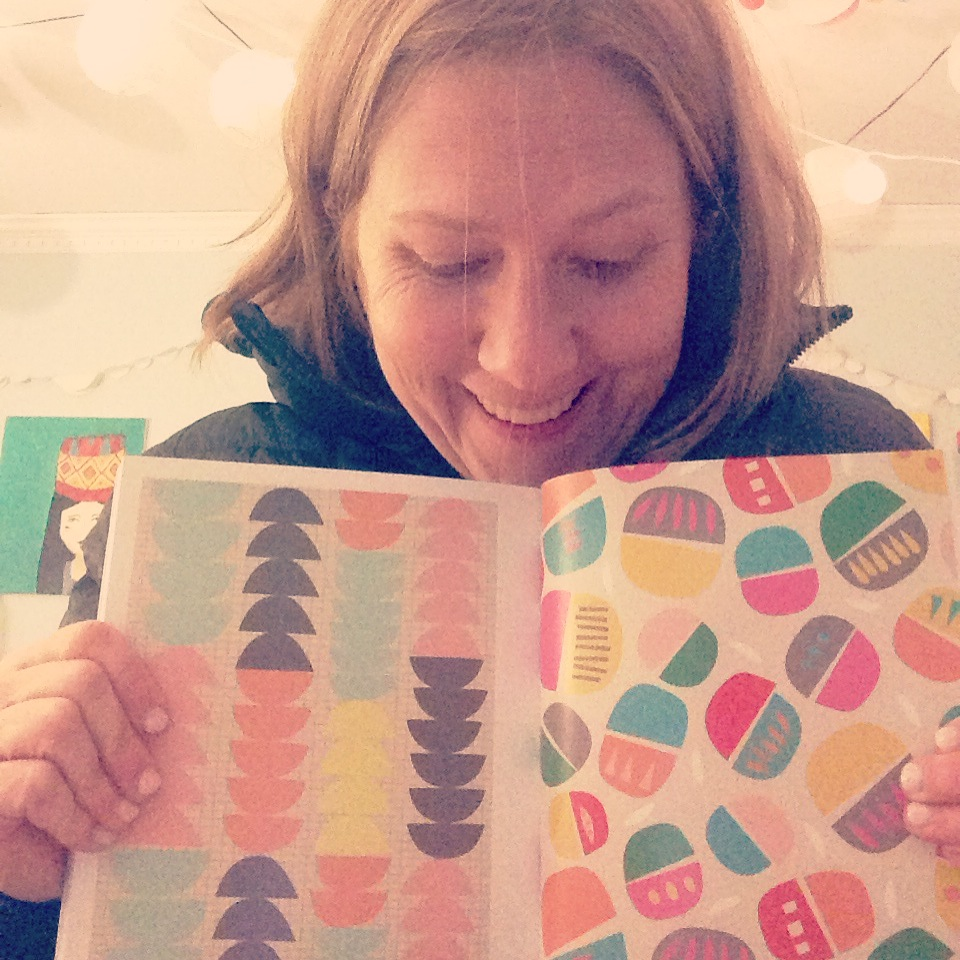 tammie bennett in print & pattern geometric book