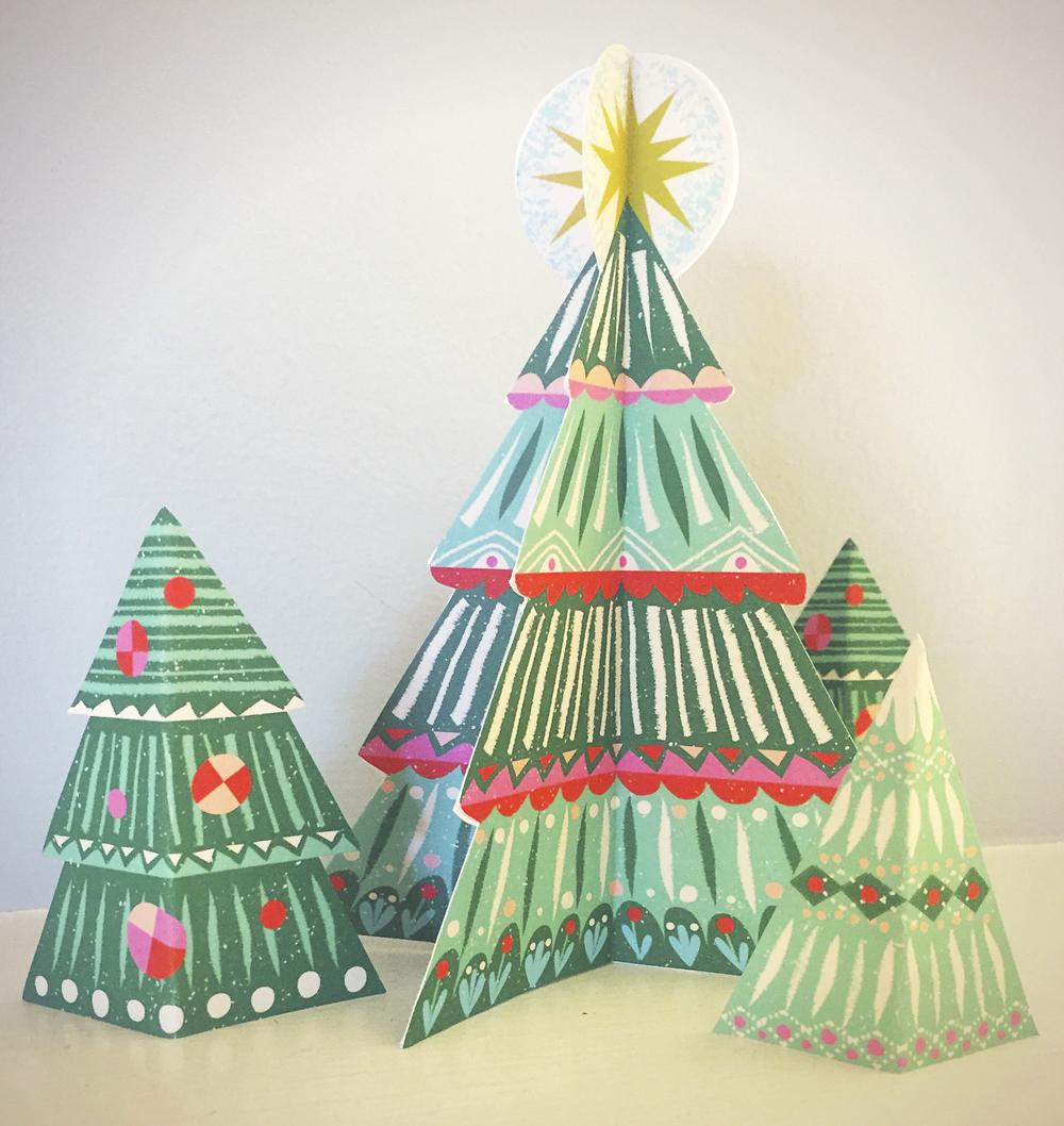 árbol de Navidad imprimible