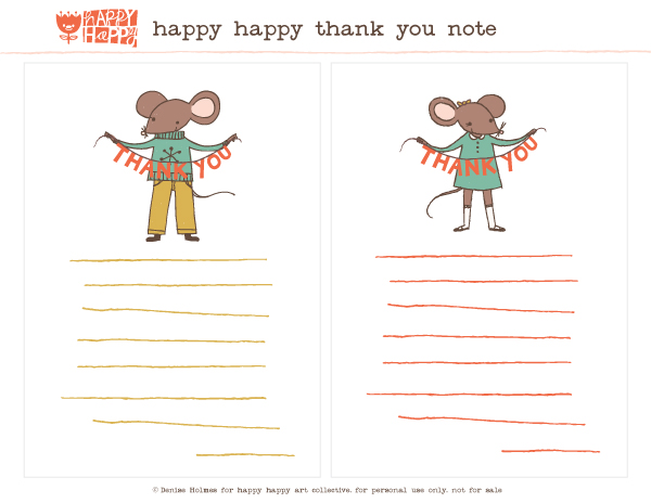 happy happy thank you note_denise
