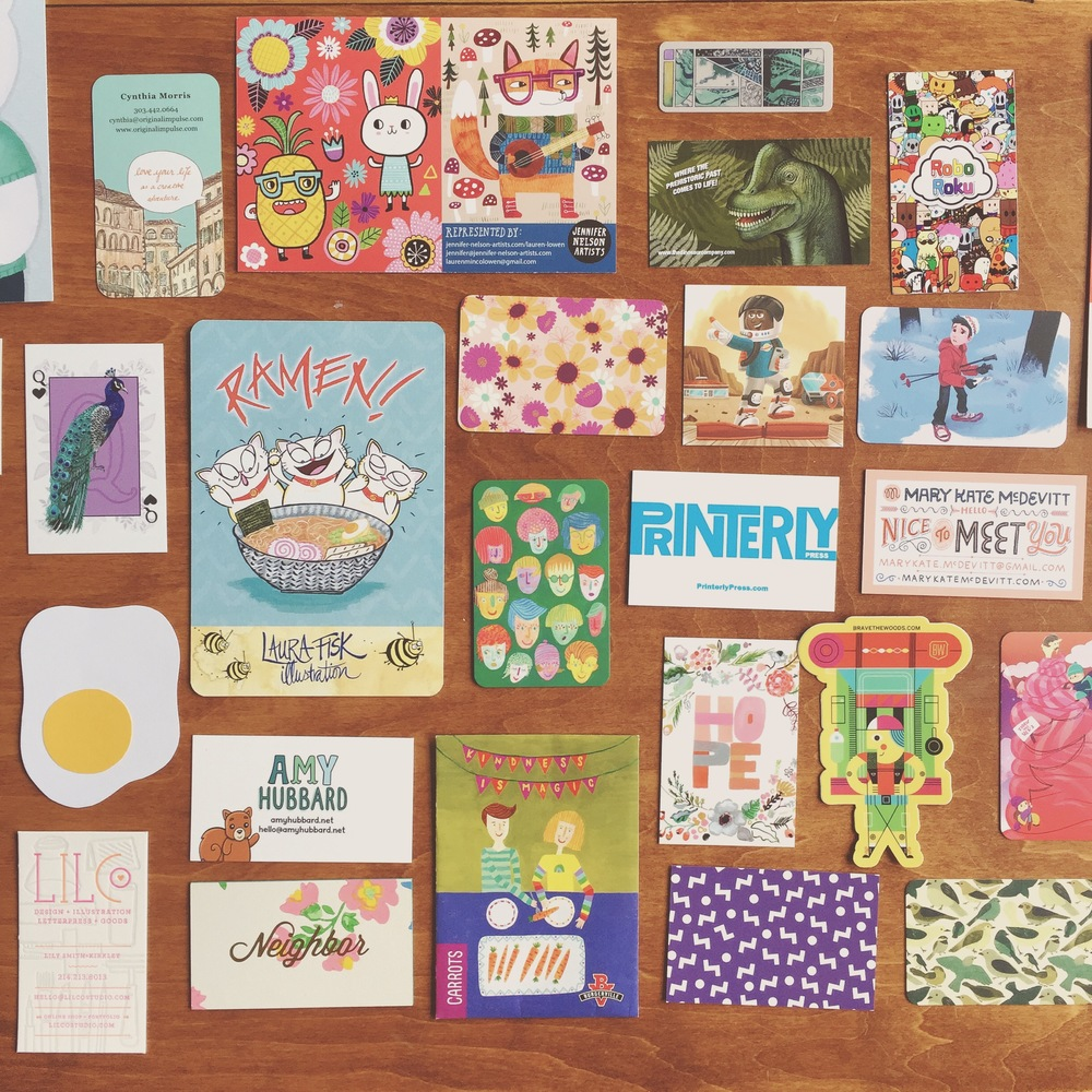 So many good business cards!