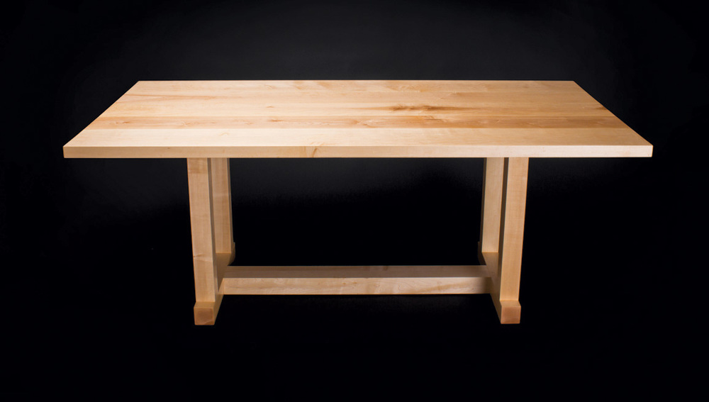 Marco's Dining Table - in Maple