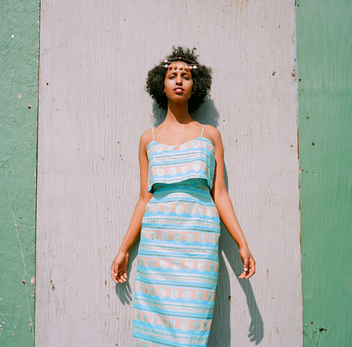 designs by Meghan Sebold. shot and edited by James de Leon. modeled by Fardosa Mohamed. styled by Julianna Vezzetti and Meghan Sebold.  jewelry by Liten Blomma.