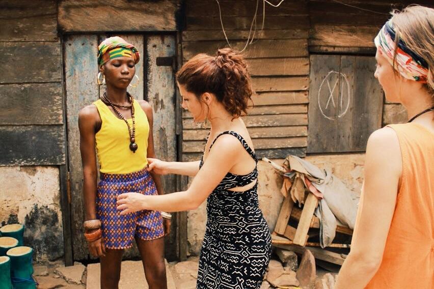 AFIA photoshoot, Accra Arts Centre,Ghana