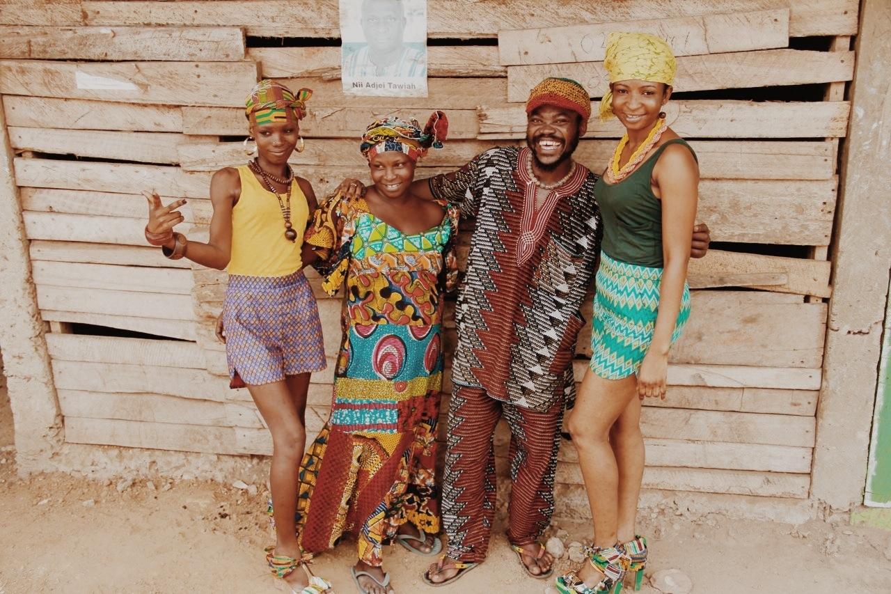 Ghana friends