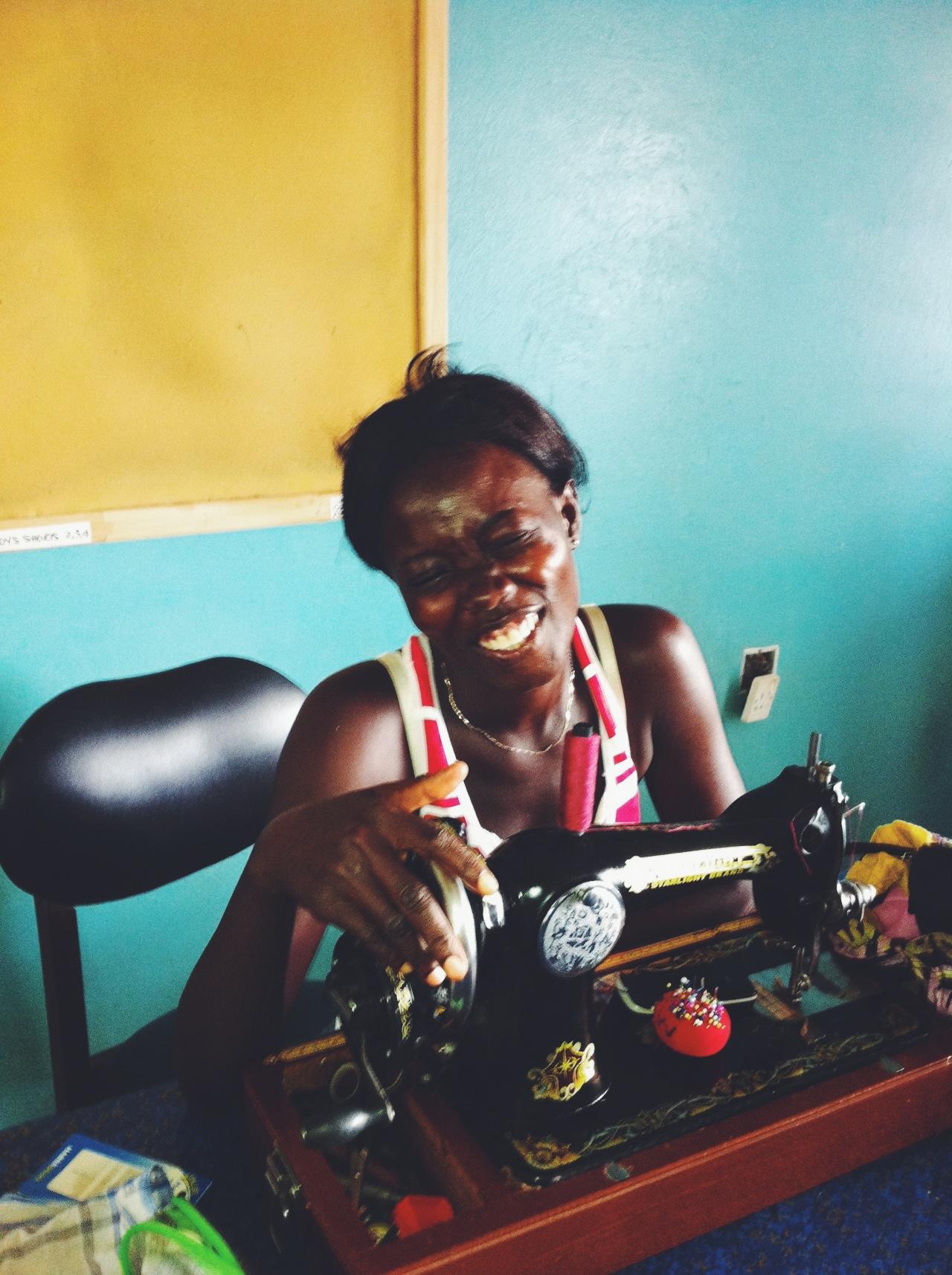 Sabrina, Dzidefo Sewing Cooperative, Kpando Ghana
