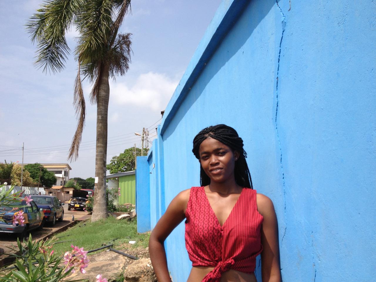 AFIA tie-front in Americana   Accra, Ghana