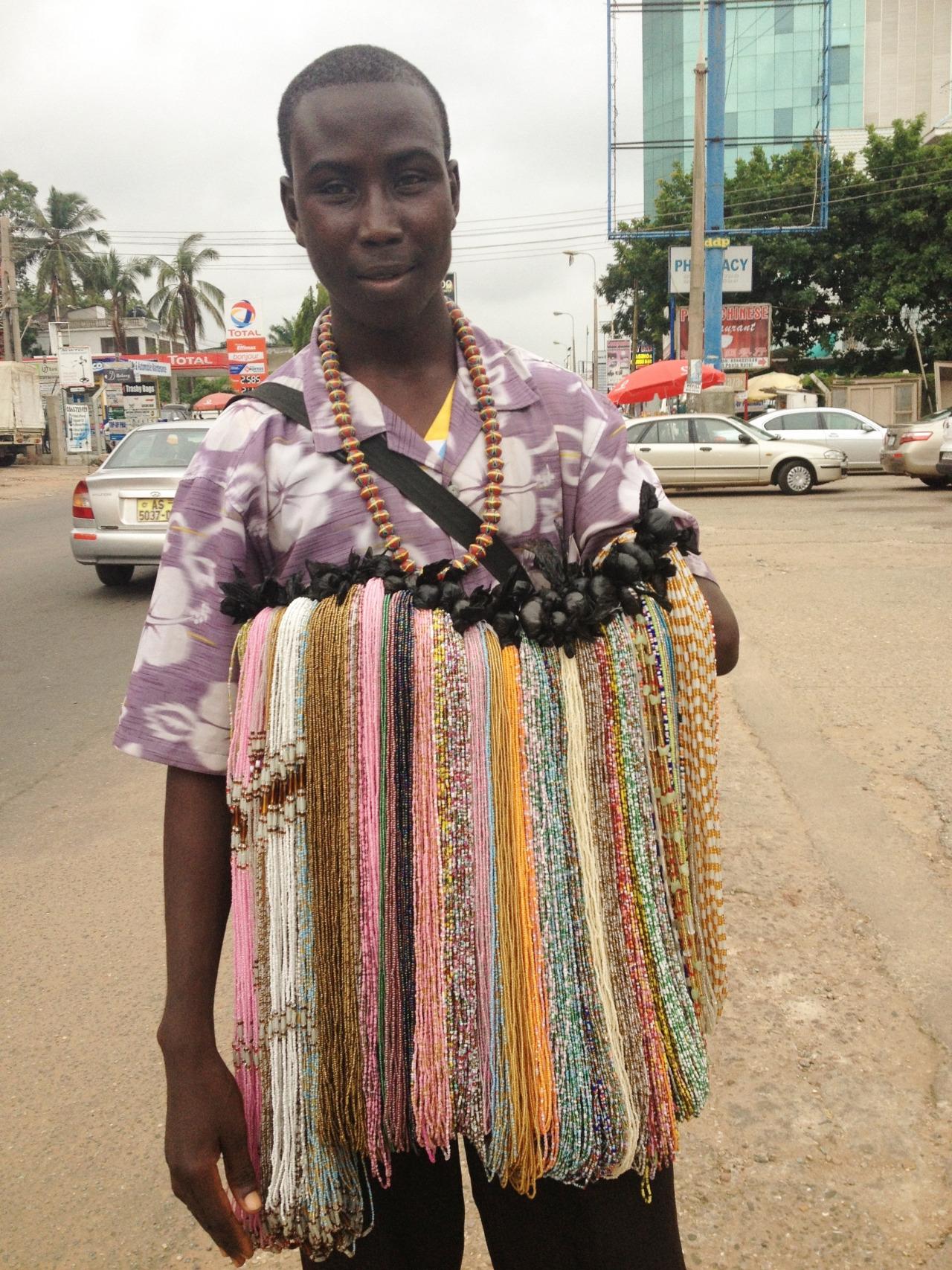waist beads galore. Accra, Ghana