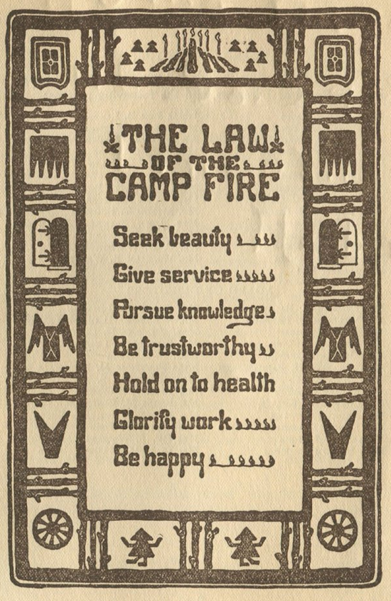 The Law of the Campfire