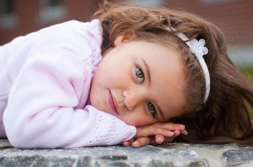 Child Photograph, Marin County, CA.