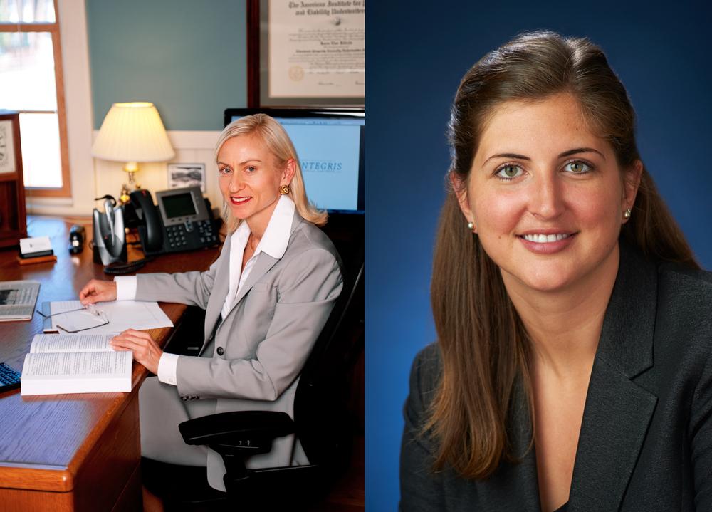 Karen, Owner/ Advisor                                      Carly, Associate
