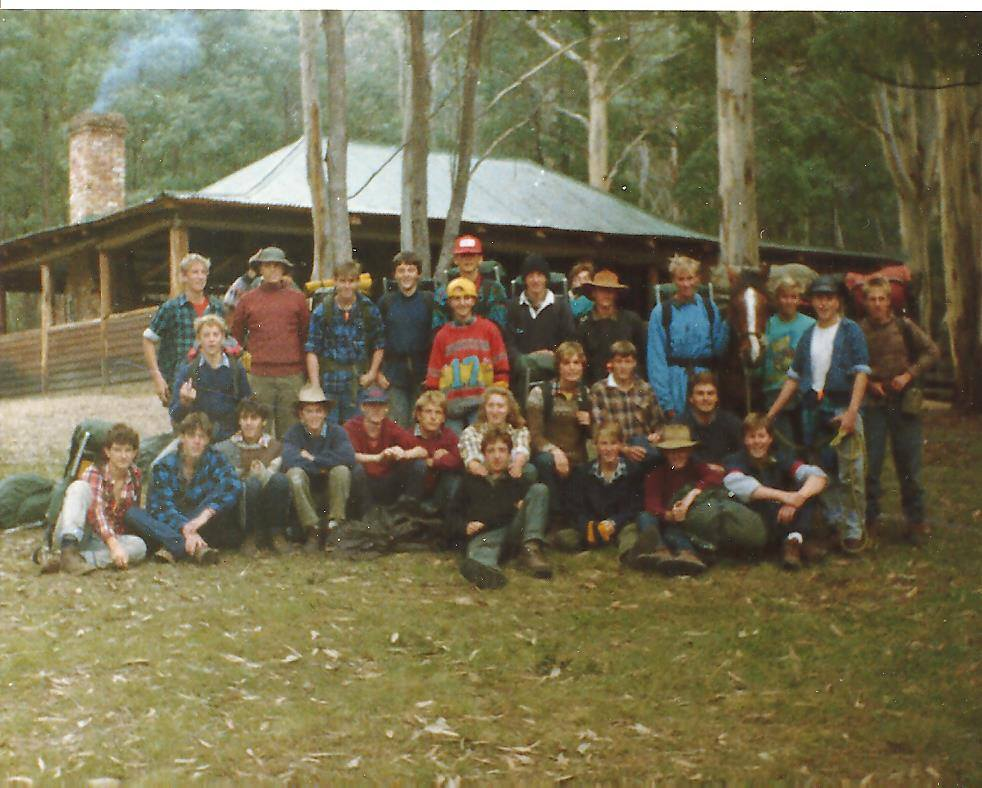 Group of young people from 1989