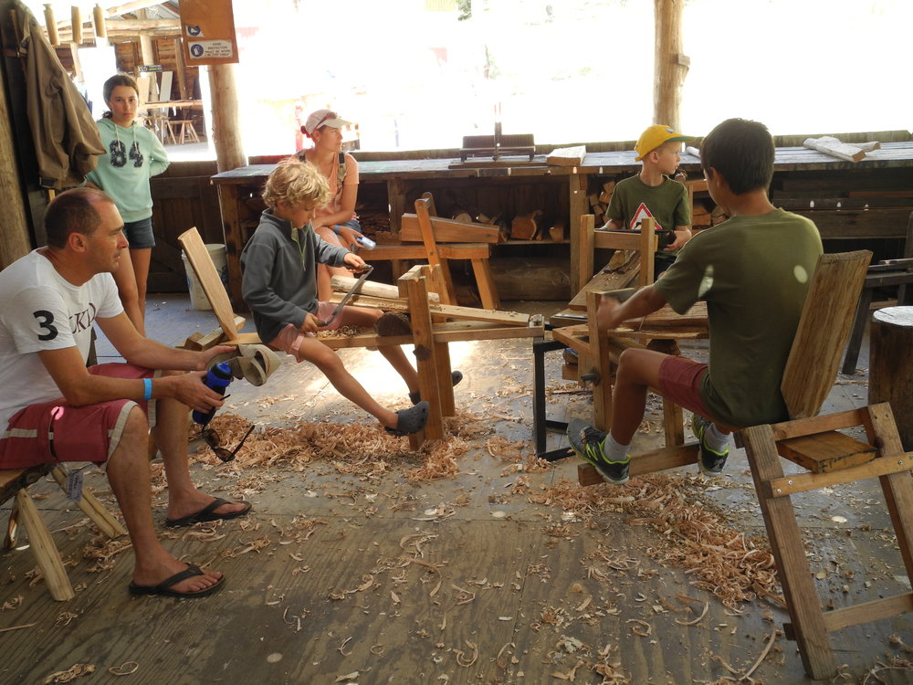 Open Day Woodworking.JPG