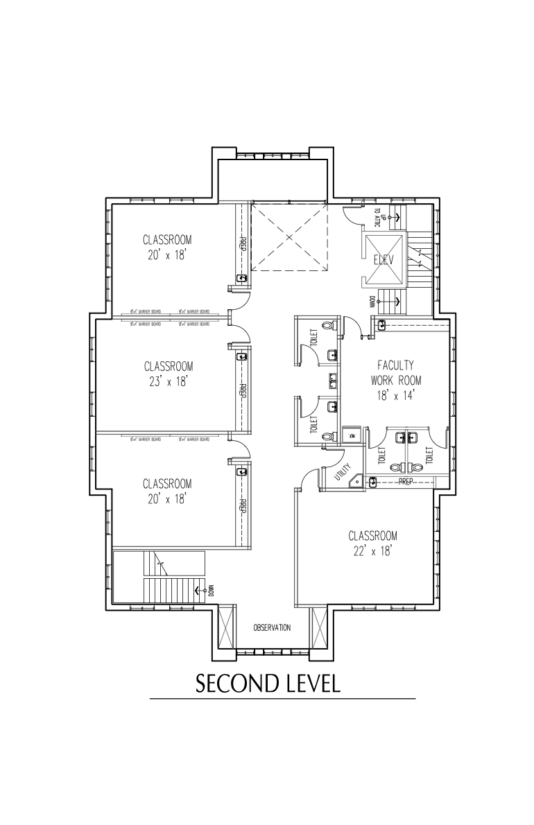 20140312 Floor Plans - Second.png