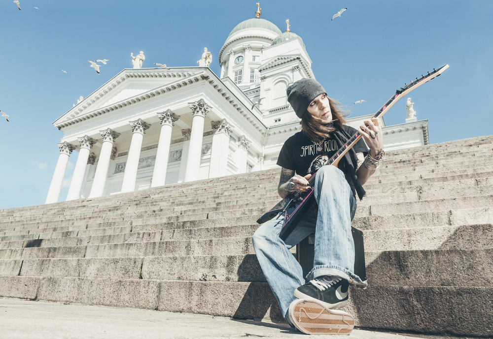 Alexi Laiho at senatesquare