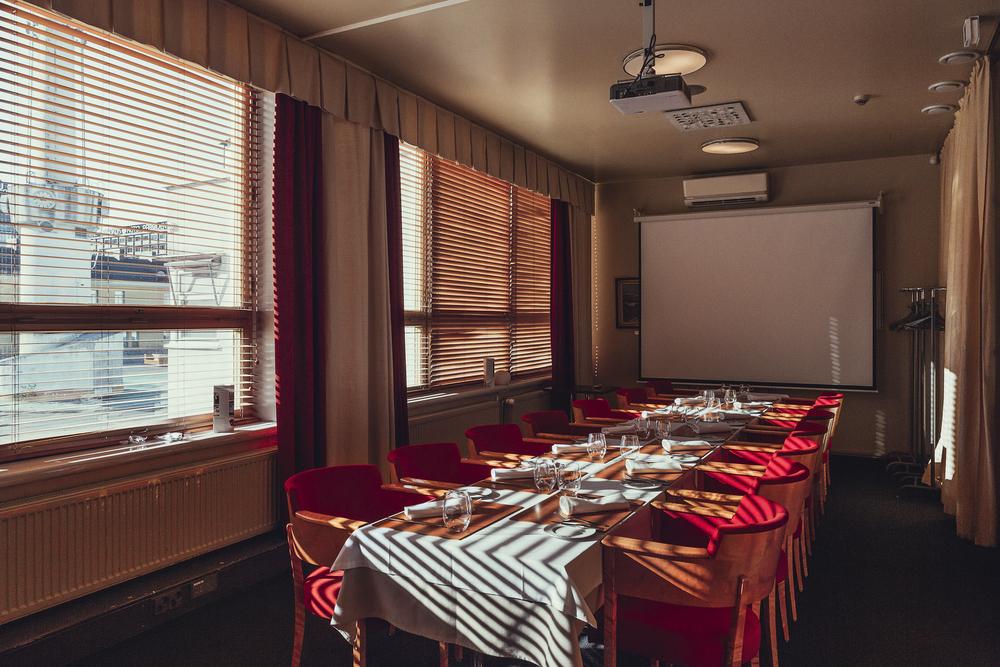 Restaurant Lasipalatsi private room