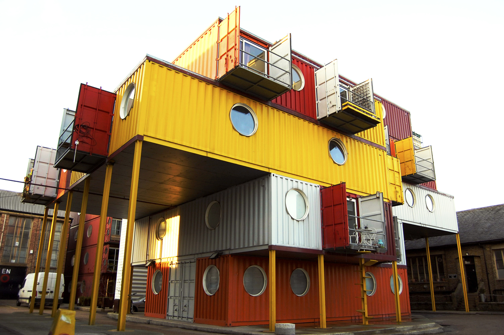Container City, The Docklands, London, UK
