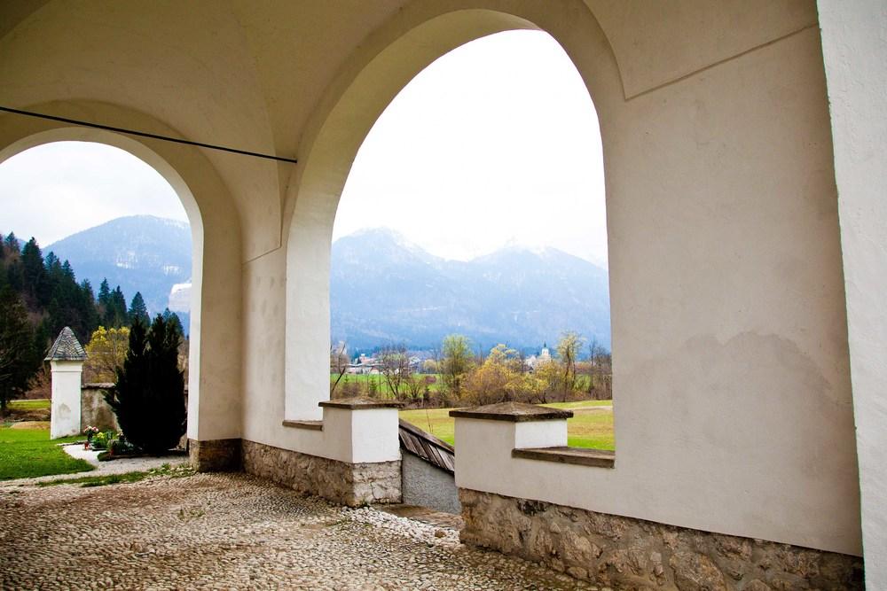 Church archway, Slovenia