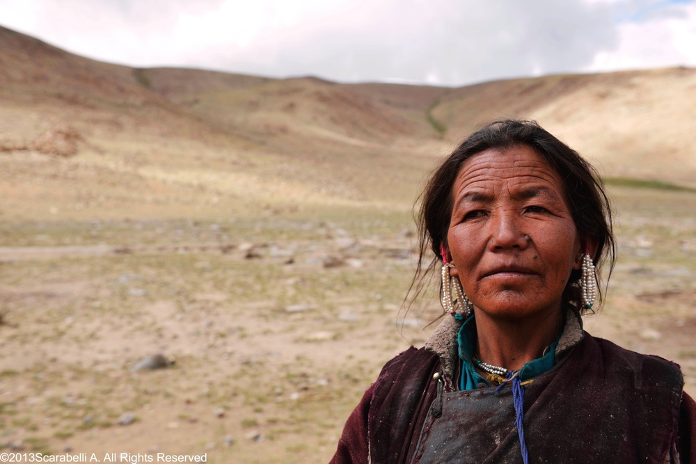 Changpa Woman