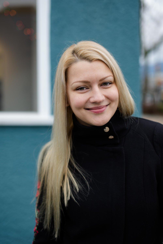 Alexandra Nestertchouk.   Portrait by: Maxine Bulloch