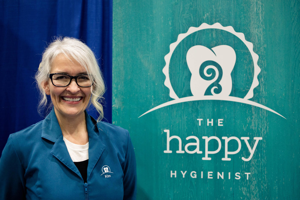 Kim, owner of The Happy Hygienist. Photo credit: Maxine Bulloch