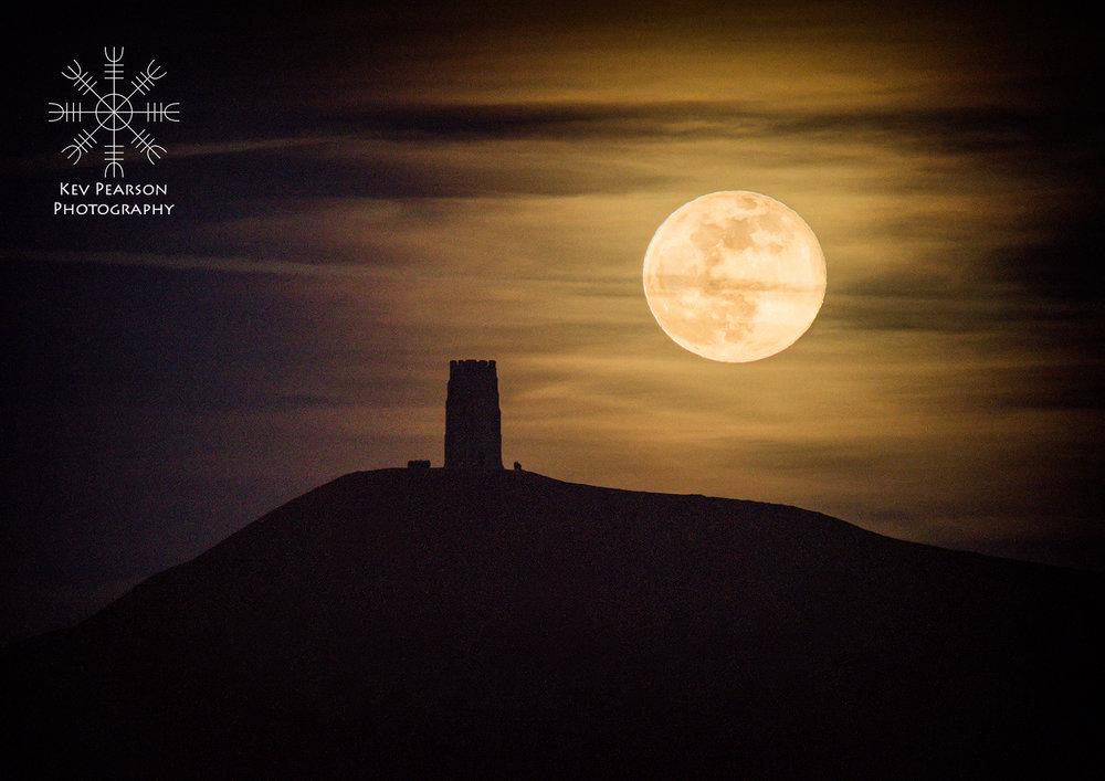 Spring Moonrise -