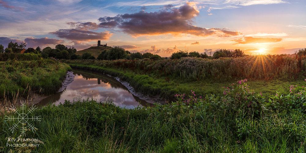 Dawn At Burrowbridge -