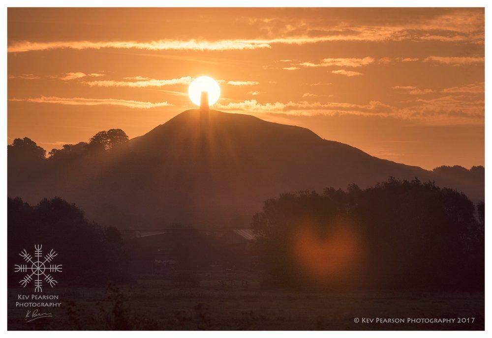 Sunrise and Orb -