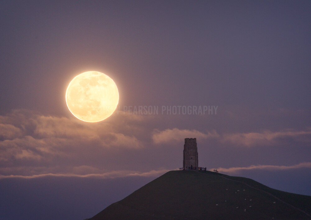 Moonrise and Moonlit Nightscapes -