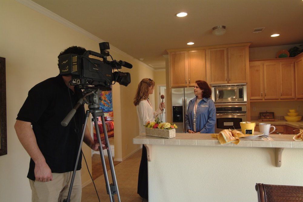 Lifestylist® Suzanne Felber shares the manufactured housing advantage in a home she styled after Hurrican Katrina in Biloxi, MS