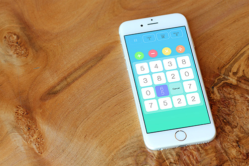 Number Mash - Number Mash is a simple puzzle game about numbers. Quick to learn and easy to play.
