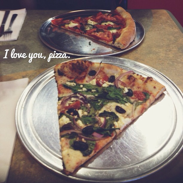 As of late…. #pizza #myheart