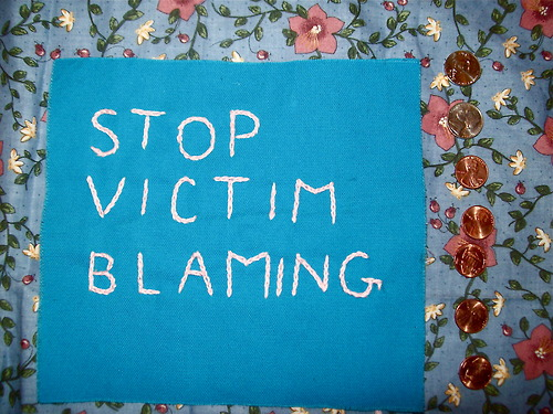 siempre-cansada :      siempre-cansada :     Stop Victim Blaming patch for 5 dollars.     replaced with a better photo, i am pleased.